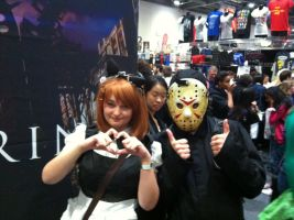 MCM Expo 2014: Jason + Yui Nagisawa by TheIcedWolf