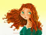 Merida Brave by juanbauty