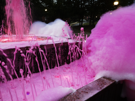 Pink Bubbles Fountain 2 by Atlantagirl