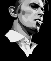 David Bowie by Tharsius