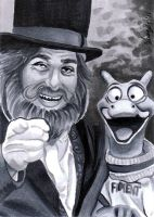 Dreamfinder and Figment by SSwanger