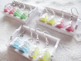 Pastel Ombre Cake Slices by Shiritsu