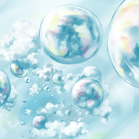 Bubbles in the sky by yldasrma