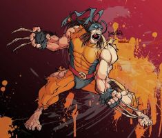 Wolverine all tore up by Veritas-a-Aequitas