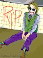 RIP Heath Ledger by Ade-AndaRio