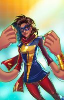 Ms. Marvel - Kamala Khan by JamieFayX