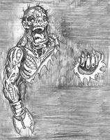 Zombie Creature 002 by Killswitch-Chris