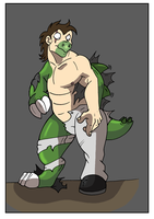 Commission: Stegosaurus TF Pt 1 by Rex-equinox
