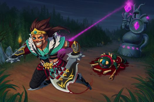 Draven by irahi