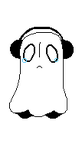 Napstablook Pagedoll {Undertale} by Ao-No-Lupus