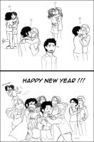 Ouat : Happy New Year ! by floangel