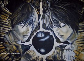 Death Note by digitalreplicant