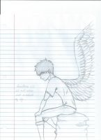 The Boy Who Had Wings On His Back by Shadow-Hunter-Is-In