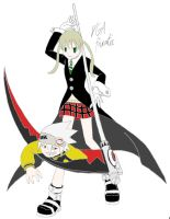 Maka and Soul by VGAfanatic