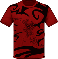 Blood Seras Shirt Design by ArtistMeli