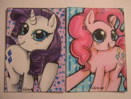 MLP ACEO's by Chao-Illustrations