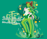 Super Sailor Jupiter T-Shirt Design by Sigma-Astra