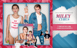 PACK PNG 329| MILEY CYRUS by MAGIC-PNGS