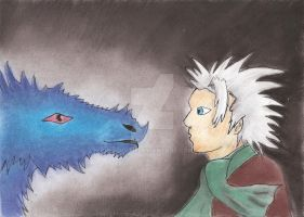 Toshiro and Dragon by Doffii