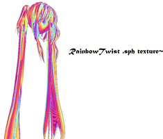 RainbowTwist Hair .sph download by Yozane