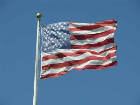 American Flag 3 by sepelia-stock