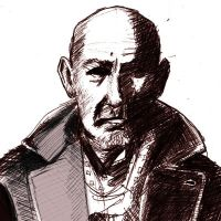 Ben Kingsley by Gino Sprio by ResHumanae