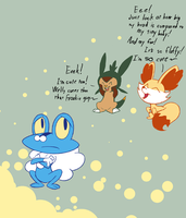 Poor Froakie by Hydro-King
