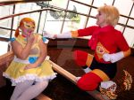 Cosplay Skit Winners- Samurai Flamenco by AngelofOrange
