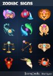 Zodiac icons by MadOyster