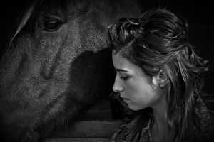 Caring Equestrian 10987789 by StockProject1
