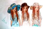 Super Hats Collection: Wide Brim Hats by Ana901