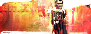 Paolo Maldini feat slim44 by magic7-GFX