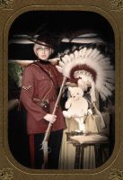 Mountie Canada Cosplay by Laurama