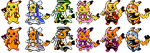 Cosplay Pika GSC Sprites by Axel-Comics
