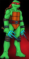 Raph in colour by psychotoonist