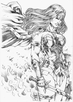 WoNDER WoMAN! by MARCIOABREU7