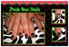 Punk Star Nail by Jessi9999