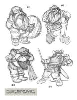 Dwarves by chewgag
