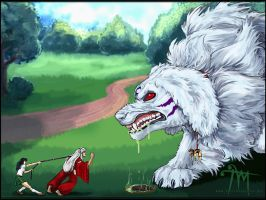 Inuyasha - A Walk in the Park by mcgray