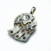 Steampunk FLUX CAPACITOR by Create-A-Pendant