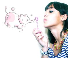 BubblElephant by 123Stella