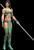 Jade Alternate Render ver. 2 by artemismoonguardian