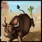 Rage of the Bull by Naoki-Wolf