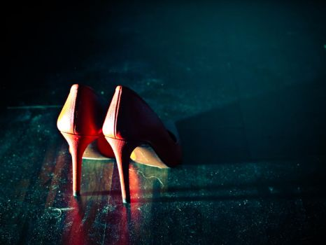Red stiletto by edke