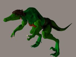 Gator Girl TF 3D 01 by ovidius-naso