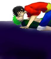 ZoLu challenge: making out by Sogequeen2550