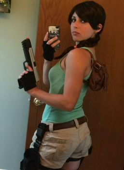 Classic Lara Croft Cosplay by grimmons88