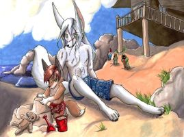 By the Sea by furry-jackal