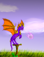 AT Spyro by xX-Starduster-Xx