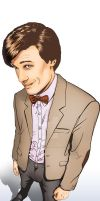 Eleventh Doctor Portrait by whatwouldjoshdo
